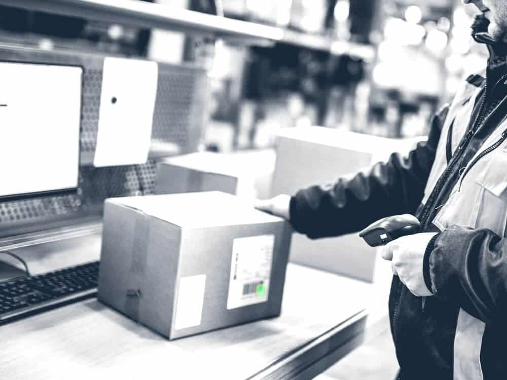 Warehouse inventory handheld scanners