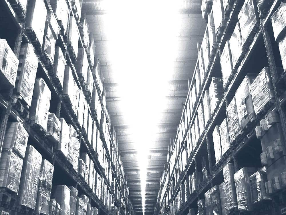 Warehouse inventory module