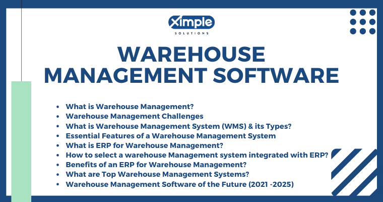 ERP for Warehouse Management